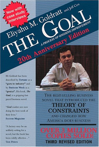 eliyahu goldratts the goal The goal - book review   the goal written by ,eliyahu moshe goldratt,  goldratts analysis divides the operations of any organization into three entities.
